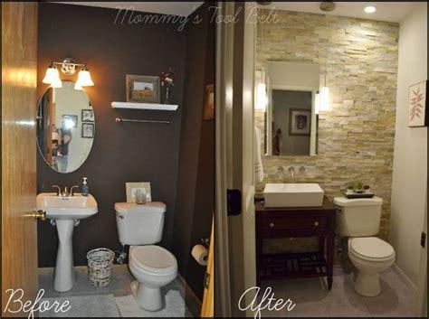 Home Improvement Bathroom Ideas by Half Bath Renovation Hometalk