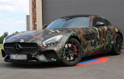 mercedes amg gt  camouflage  ps  sportwagen
