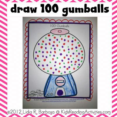 100th day ideas and freebies scholastic 100   100 day gumballs