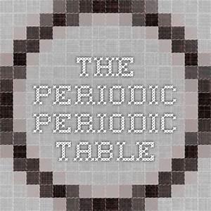 The Periodic Periodic Table