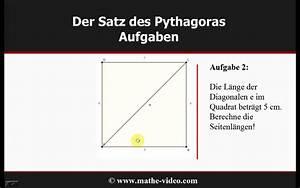 Satz Des Pythagoras A Berechnen : satz des pythagoras beispielaufgaben youtube ~ Themetempest.com Abrechnung