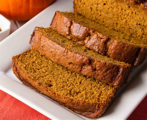 pumpkin bread    chef