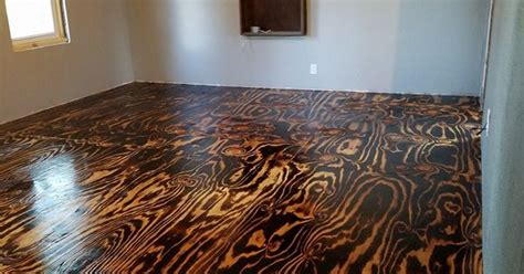 plywood sheet flooring bob schoenfelder burned plywood
