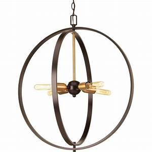 Progress lighting swing collection light antique bronze