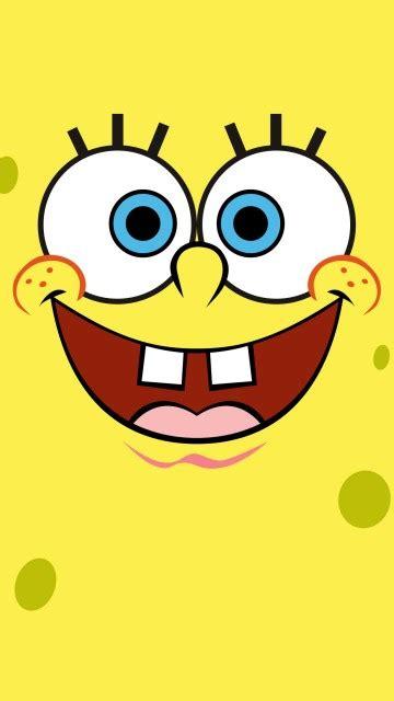 wallpaper spongebob squarepants yellow  minimal