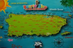 Puerto Rico Beaches Map