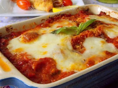 la cuisine italienne recettes aubergines alla parmigiana recette familiale classique