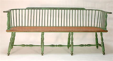 low back settee large low back bench settee bench