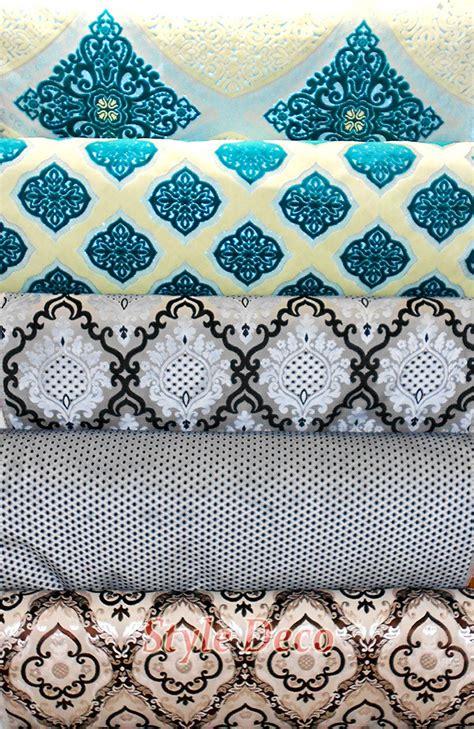 tissu canapé marocain tissus salon marocain