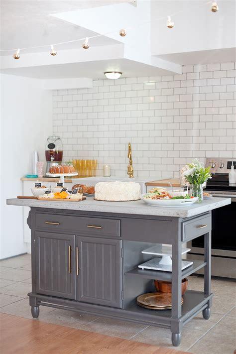 modern diy kitchen island makeover   budget fresh