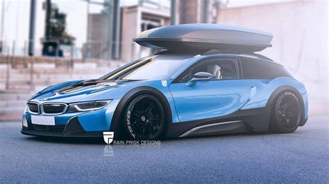 Wagon Cars : 7 Crazy Station Wagon Renders Based On Sports Cars