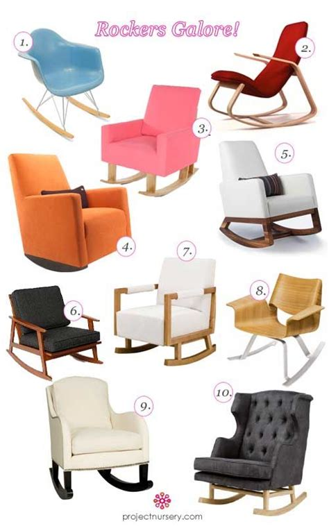 rocking chairs for the nursery small rooms trends and