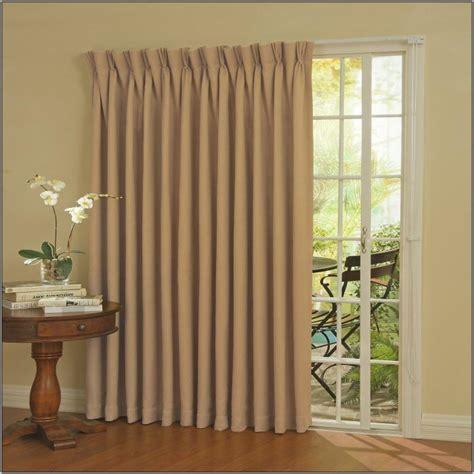 curtain rod length for sliding glass door window