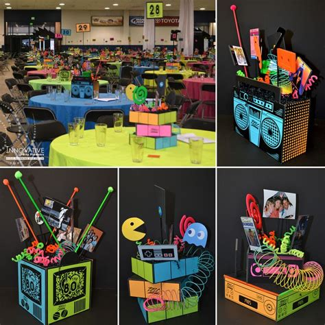 centerpieces   corporate  anniversary held