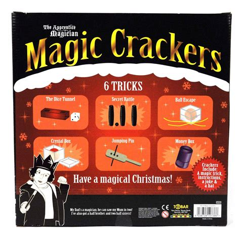 magic christmas crackers ebay