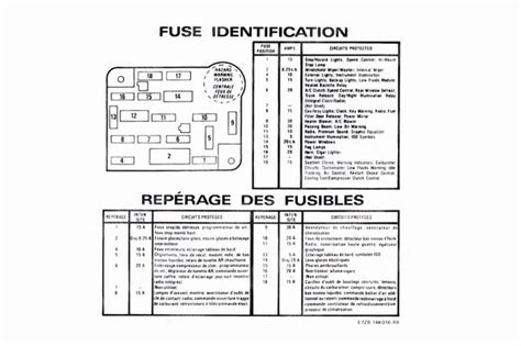 87 Mustang Fuse Box Diagram by Mustang Fuse Box Id Decals