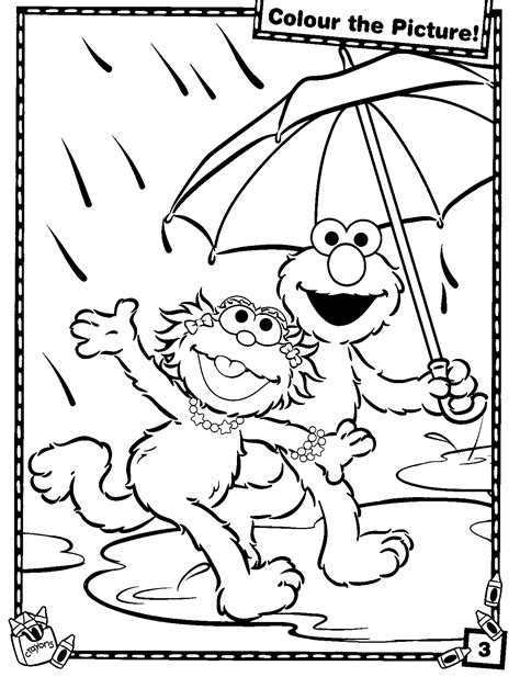 Coloring Pages To Print by Free Printable Elmo Coloring Pages For