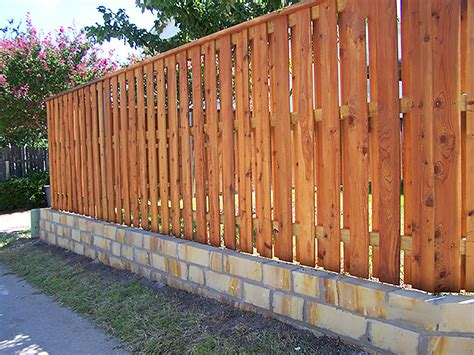 wooden fence designs ideas wood fence design ideas circle d industries 817 984 5566