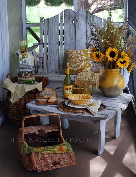 Sunflower Porch Arrangement