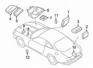 Jaguar Xk8 Fuse Box  Modules  U0026 Electrical Distribution   4