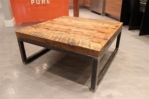 Table De Salon Bois : table basse mathis upcycl 699 00 ~ Teatrodelosmanantiales.com Idées de Décoration