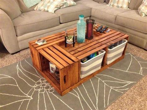 table basse en cagette 1001 id 233 es et tutos pour fabriquer un meuble en cagette