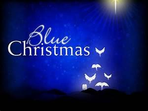 Blue, Christmas, Service