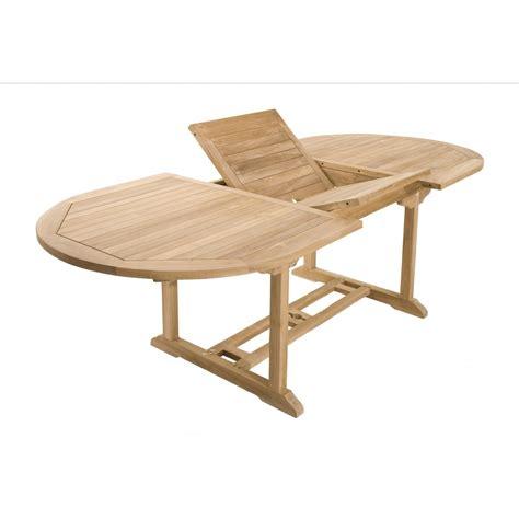 chaises fauteuils salon jardin teck table ovale 200x100cm 4 chaises 2