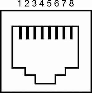 492075 - Rj45 Panel Connector