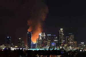 Los Angeles Fire: 250 Firefighters at Scene, Harbor ...