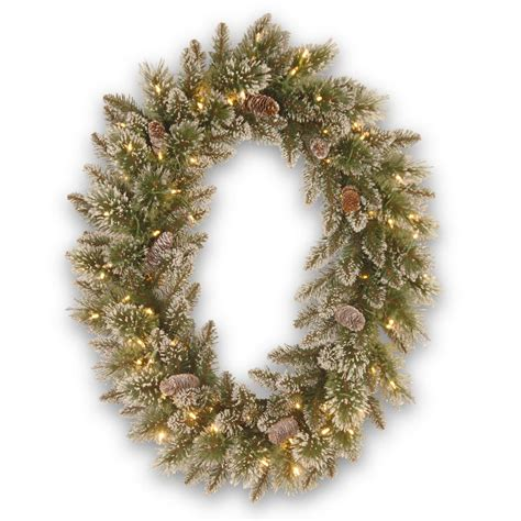 national tree company 30 in glittery bristle pine