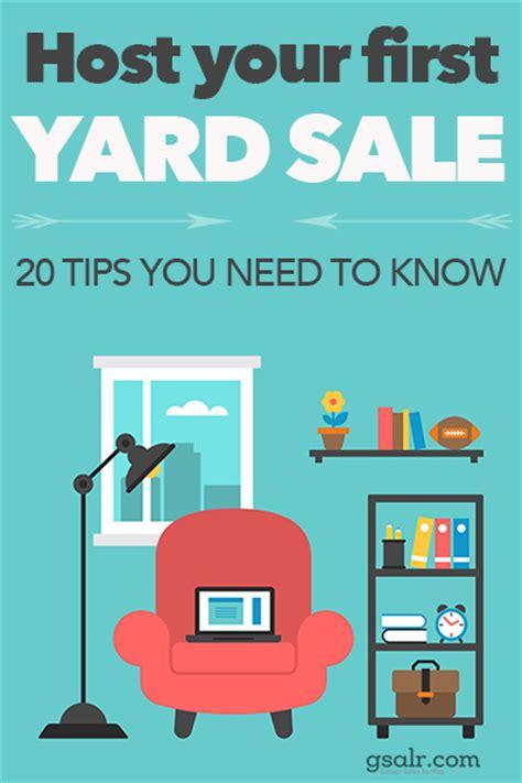 top seller  yard sale tips  beginners