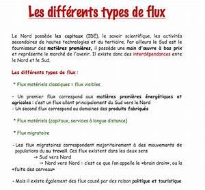 R U00e9viser L U0026 39 Histoire Et La G U00e9ographie  Les Diff U00e9rents Types De Flux