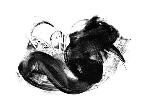 Abstract Black And White Artwork by Black And White Print Abstract By Paul Maguire