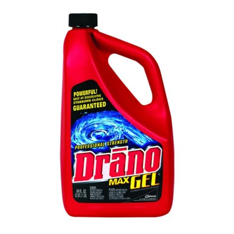 Drano Not Working Bathtub by Drano Max Gel Clog Remover