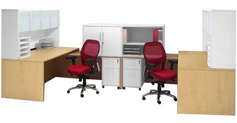 white two person desk structures maple white 2 person shared workstation