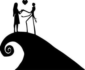 Download nightmare before christmas svg, tree moon svg digital file (140222) today! Jack Skellington And Sally Silhouette at GetDrawings ...