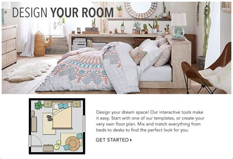 Room Planner Pbteen by Room Planner Pbteen