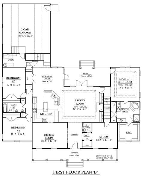 open space floor plans houseplans biz house plan 3027 b the brookgreen b