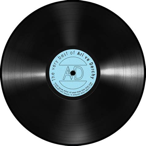 Vinyl record mockup on Behance