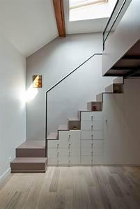 Escalier De Maison Interieur : le design des escaliers contemporains bricobistro ~ Zukunftsfamilie.com Idées de Décoration