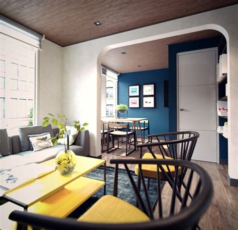 Idee Decoration Petit Appartement D 233 Co Studio Et Petit Appartement 4 Exemples Remarquables