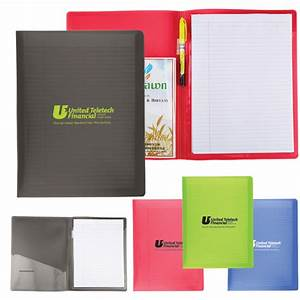 letter size folder w writing pad usimprints With letter size writing pads