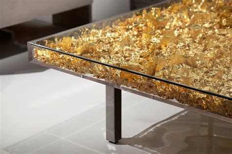 gold table l table monogold by yves klein hepner