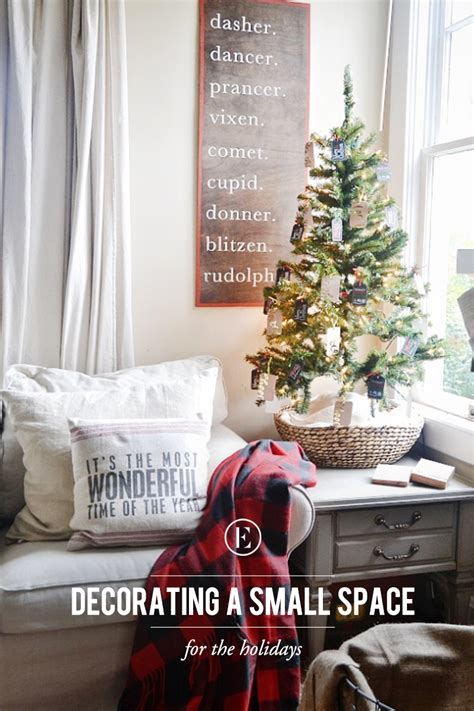 Tips For Decorating A Small Space For The Holidays The