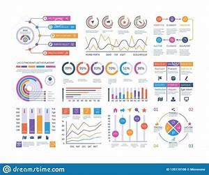 Infographic Dashboard  Ui Interface  Information Panel With Finance Graphs  Pie Chart And