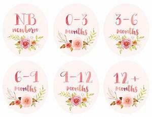 baby girl infant clothing printable tags labels dividers for With free printable clothing labels