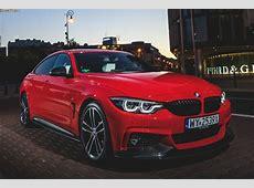 Knallrot in Polen BMW 4er Gran Coupé mit M Performance Parts
