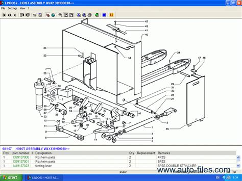 Linde Fork Lift Truck Spare Parts Repair