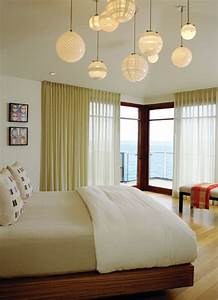 No ceiling lights in bedrooms : Cute ceiling decoration with plug in light ideas for